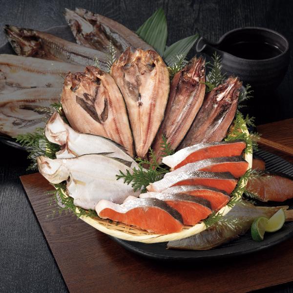 エスケイフーズ 紅鮭・北海道産干物詰合せ 【送料無料】
