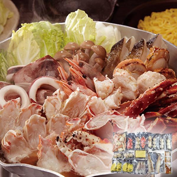 小樽海洋水産 たらば海鮮鍋【送料無料】【ギフトセット】【詰め合わせ】【北海道】【鍋】