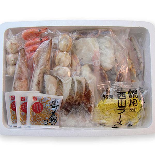 小樽海洋水産 たらば海鮮鍋【送料無料】【ギフトセット】【詰め合わせ】【北海道】