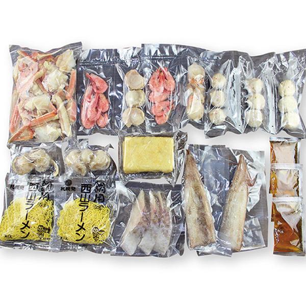 小樽海洋水産 海鮮しお鍋 北海道直送【送料無料】【ギフトセット】【詰め合わせ】【北海道】