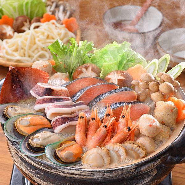 小樽海洋水産 石狩鍋【送料無料】【ギフトセット】【詰め合わせ】【北海道】