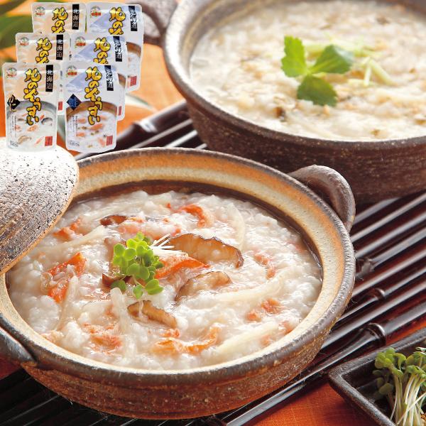 竹田食品 北の雑炊セット 2種(かに・鮭)