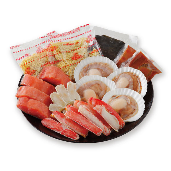 カネコメ田中水産 海鮮かに鍋 ギフトセット【送料無料】【詰め合わせ】【北海道】