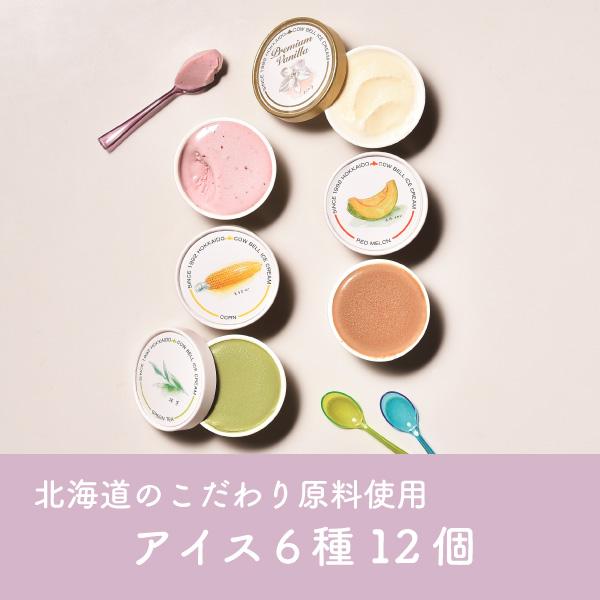 カウベル アイス6種12個詰め合わせ【送料無料】