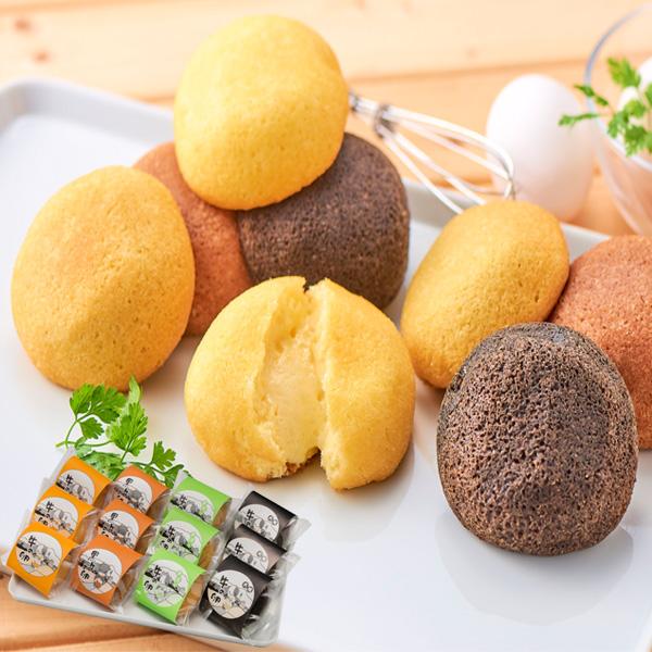 滝本菓子舗 牛の卵 4種×3個【送料無料】