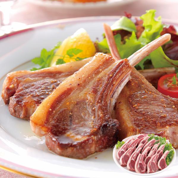肉の山本 ラムフレンチラック 16本【送料無料】【ギフトセット】【詰め合わせ】【北海道】【ステーキ】