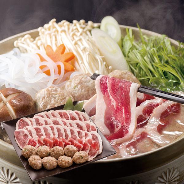 肉の山本 滝川産 鴨鍋セット【送料無料】【ギフトセット】【詰め合わせ】【北海道】