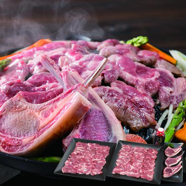 肉の山本 生ラム 食べ比べセット(たれ付)【送料無料】