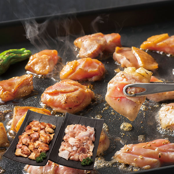 肉の山本 知床どり  串なし焼き鳥セット 2種【送料無料】