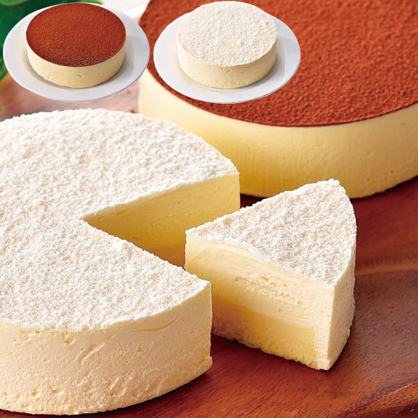 見方 北のチーズケーキ 2種【送料無料】【ギフトセット】【詰め合わせ】【北海道】【洋菓子】