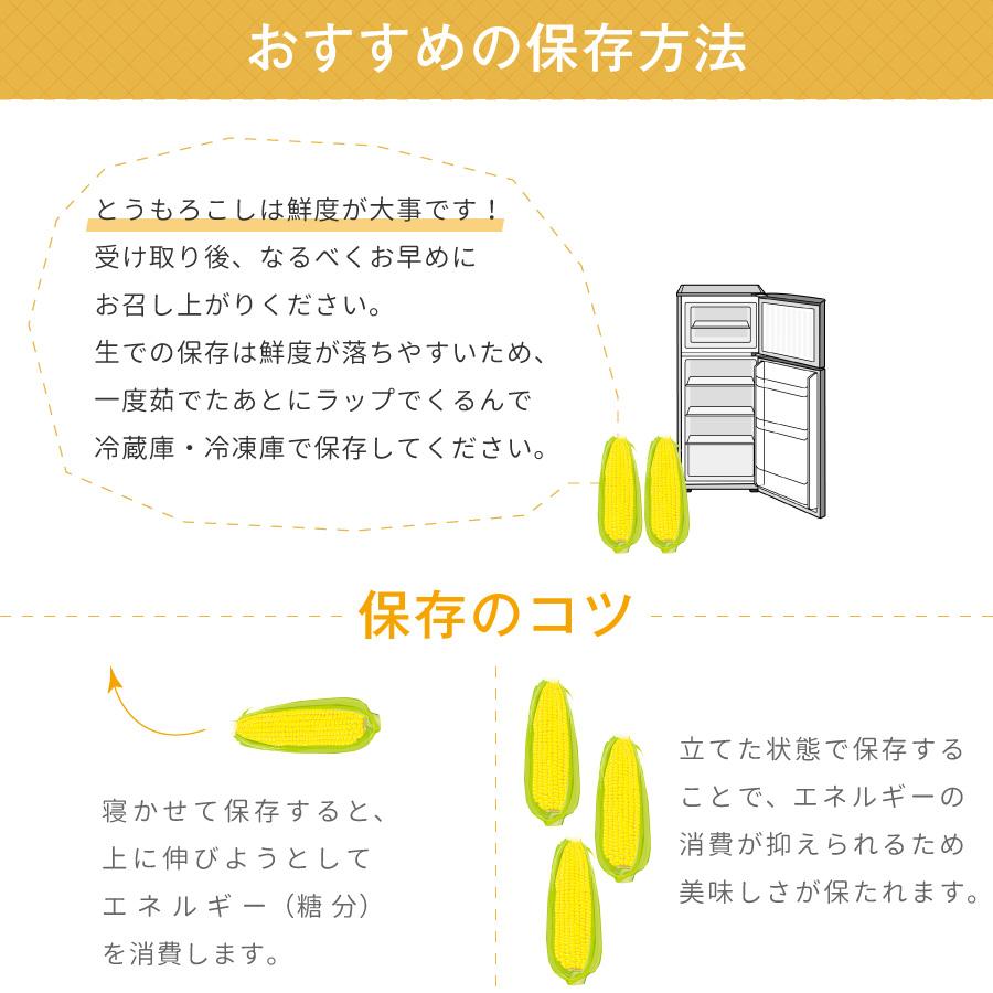 北海道産とうもろこし(とうきび、コーン)は鮮度が大事です。